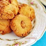 Ciasteczka orzechowe z masłem orzechowym