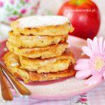 Przepis na placuszki z jabłkami