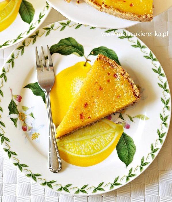 Tarta cytrynowa na herbatnikach