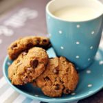 Ciasteczka pełnoziarniste z czekoladą i bakaliami
