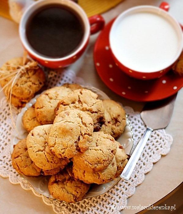Ciasteczka toffi