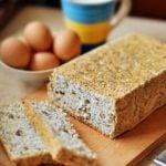 Ciasto z białek makowo - kokosowe