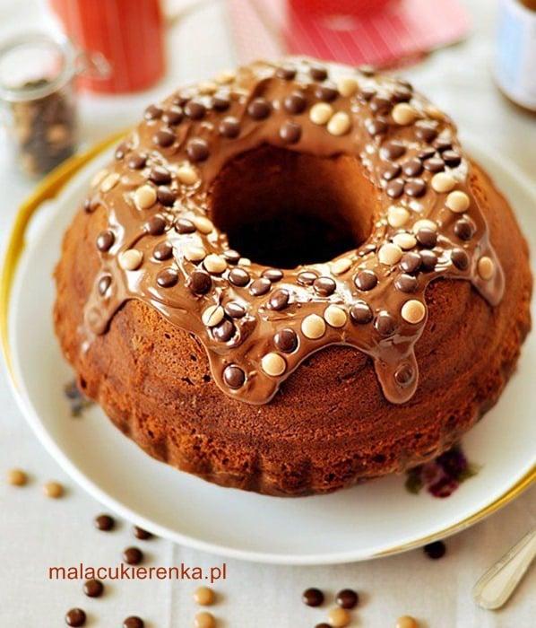 Ciasto z nutellą