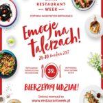 Wiosenna edycja Restaurant Week 2017