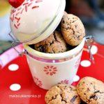 Ciasteczka pełnoziarniste z czekoladą