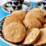 Ciasteczka korzenne z migdałami