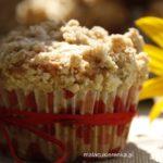Muffiny z malinami i kruszonką