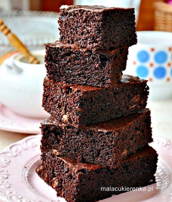 Proste brownies z czekoladą