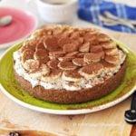 Tarta czekoladowa z bananami i bitą śmietaną - banoffee pie