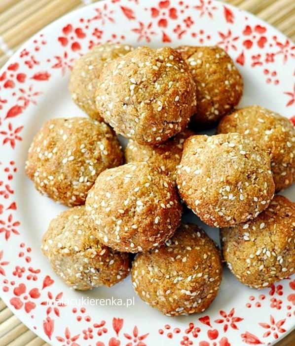Sezamowe ciasteczka