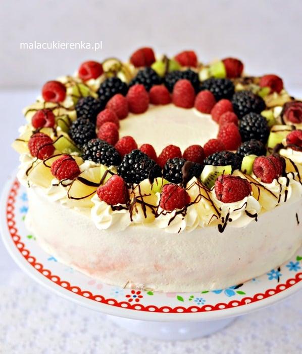 """Tort """"Owocowy Raj"""""""