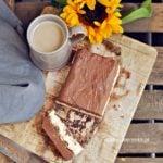 Ciasto wegańskie kakaowo – kawowe z wanilią, bez cukru