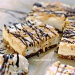 Ciasto wegańskie z masłem orzechowym bez cukru, bez glutenu