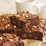 Najlepsze MOCNO czekoladowe BROWNIES
