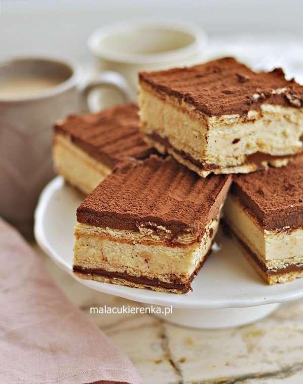 Ciasto kinder bueno bez pieczenia