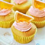 Pomarańczowe cupcakes
