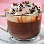 Waniliowa gorąca czekolada