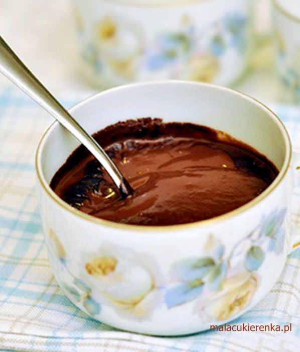 Korzenna gorąca czekolada