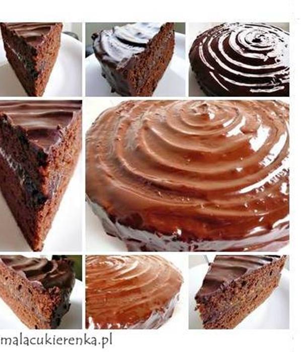 Ciasto super czekoladowe