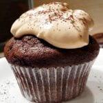 Muffinki kakaowe z likierem kawowym