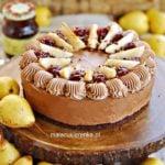Tort Czekoladowy z Gruszkami