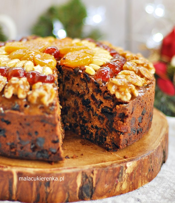 Bogaty Keks Angielski – Fruit Cake