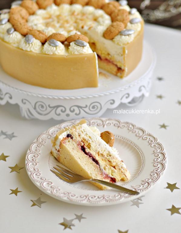 Tort Migdałowy Malakoff