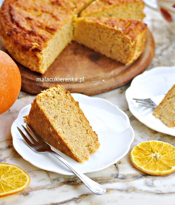 Ciasto Pomarańczowe z Miodem, Bez Glutenu