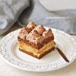 Ciasto Kakaowa Krówka z Krakersami