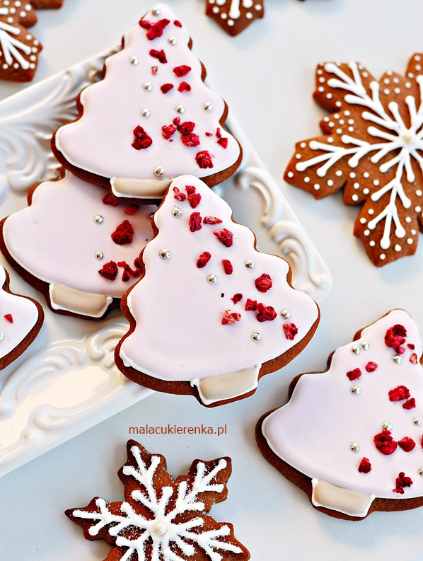 Dekorowanie Świątecznych Pierniczków