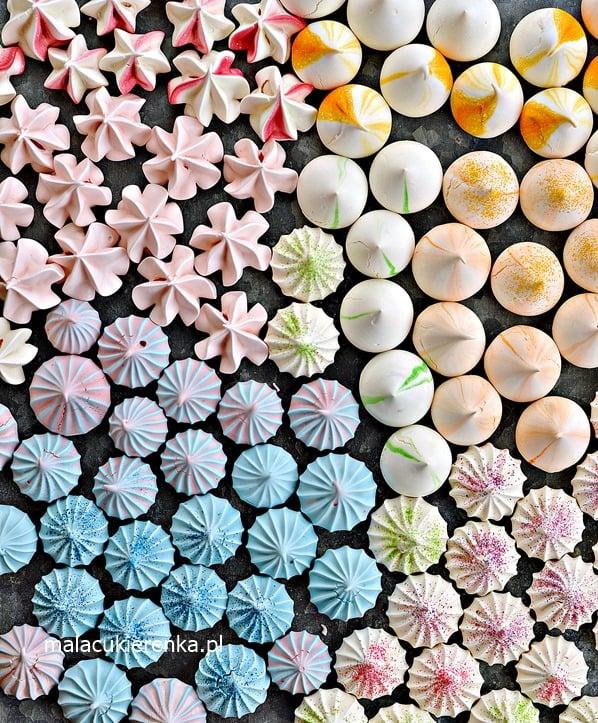 Kolorowe Mini Bezy