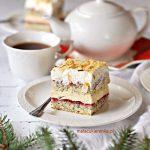 Ciasto Maczek Chałwowy z Konfiturą