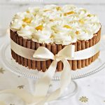 Tort Brzoskwiniowy z Jogurtem BEZ PIECZENIA