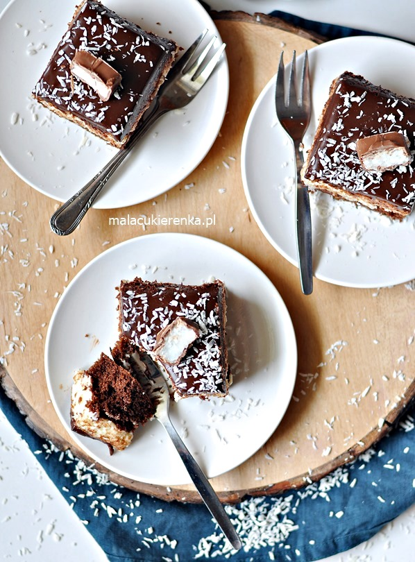 Ciasto Kokosowe Bounty