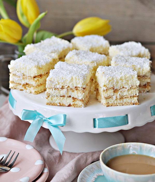 Najlepsze Ciasto Raffaello z Likierem Bez Pieczenia