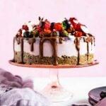 Ciasto Wegańskie Owocowo – Orzechowa Pycha Na Zimno, Bez Cukru, Bez Glutenu