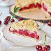 ŁATWE PYSZNE Ciasto z WIŚNIAMI i KRUSZONKĄ
