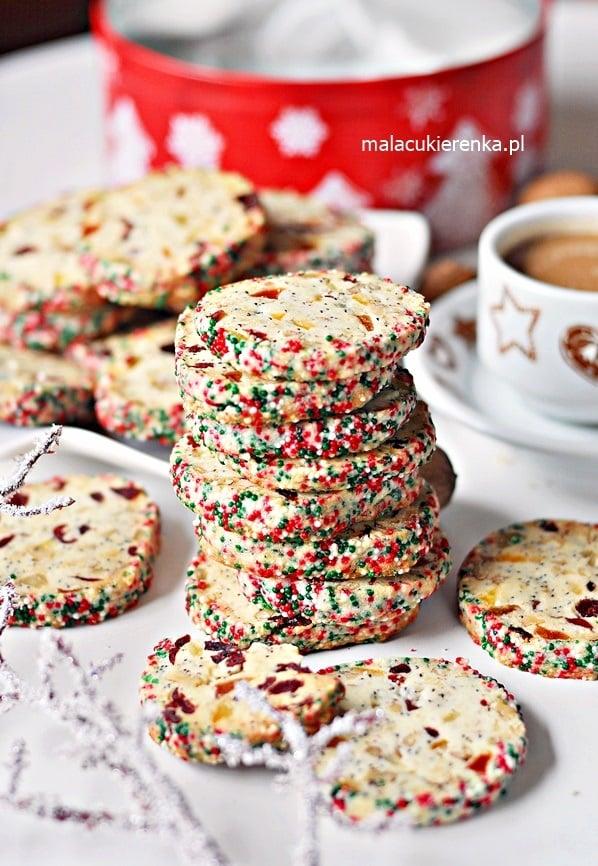 Proste Ciastka Świąteczne z Bakaliami