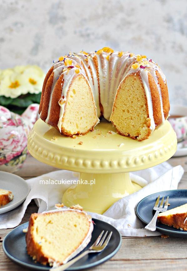 Babka jogurtowa cytrynowo – pomarańczowa