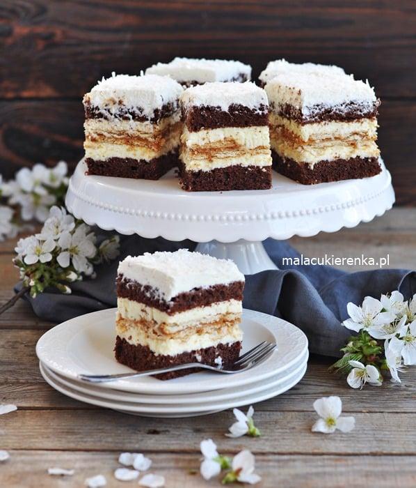 Ciasto Kokosowa KRÓWKA