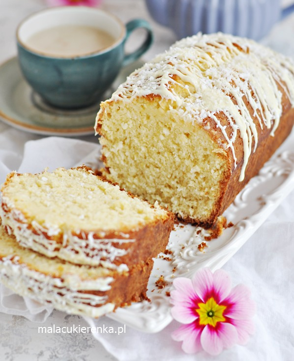 MEGA Proste Szybkie Ciasto Cytrynowe z Kokosem