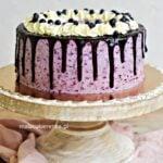 Tort JAGODOWY i Drip Cake