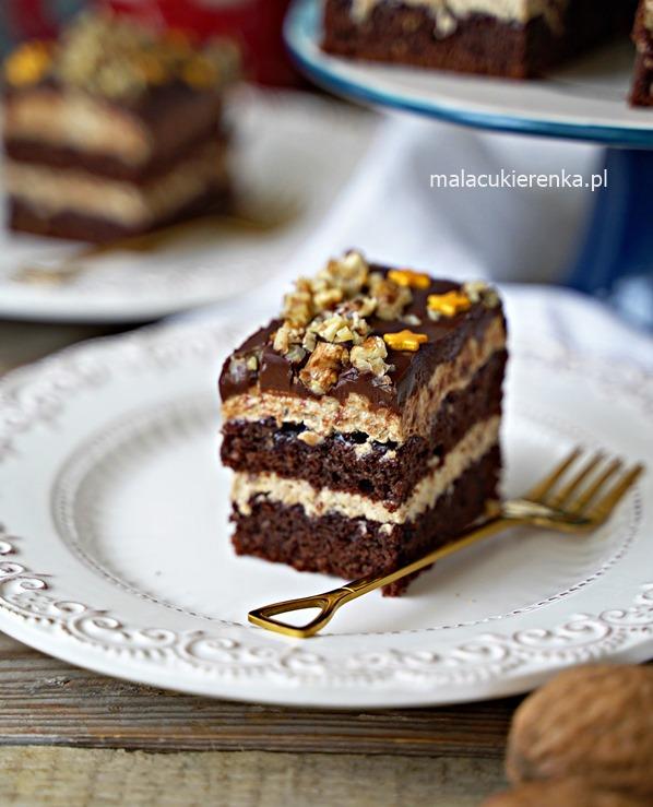 Ciasto ORZESZEK w czekoladzie
