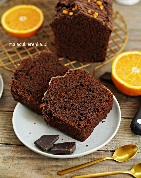 Mega PROSTE Ciasto czekoladowe z pomarańczą