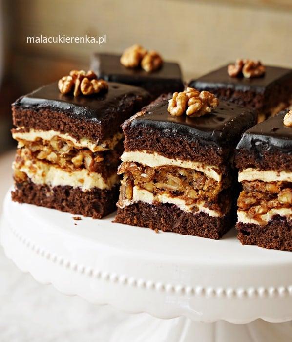 Ciasto orzechowe Marysieńka